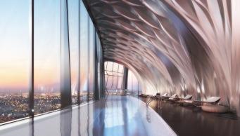 1000 Museum -Aquatic Center. Image © Zaha Hadid Architects