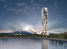 1000 Museum -Unsited Conceptual Rendering. Image © Zaha Hadid Architects 1